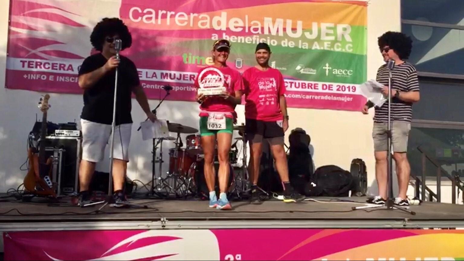 Alessia Bertolino, padrina de la carrera de la dona de Motril 2019